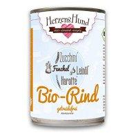 HerzensHund Bio-Rind mit Bio-Zucchini