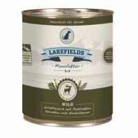 Lakefields Dosenfleisch Muskelfleisch - Menü Wild