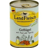 LandFleisch Hausmannskost Senior Geflügel & Reis und Paprika