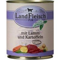 LandFleisch Pur Lamm & Ente & Kartoffeln