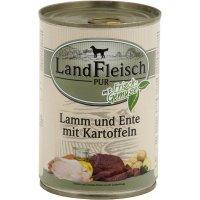 LandFleisch Pur mit Ente & Reis mit Biogemüse