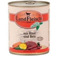 LandFleisch Pur Rind & Reis mit Biogemüse