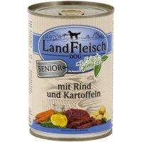 LandFleisch Senior Rind & Kartoffeln mit Biogemüse