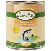 Lukullus Sommer-Menü: Zarter Lachs (getreidefrei)