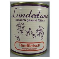 Lunderland Dosenfleisch Rindfleisch durchwachsen