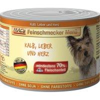 MACs Feinschmecker Kalb, Leber und Herz