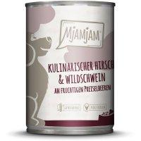 MjAMjAM Kulinarischer Hirsch & Wildschwein an Preiselbeeren