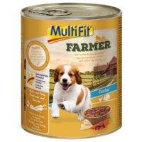 MultiFit Farmer Junior Huhn mit Pute, Pastinake & Karotte