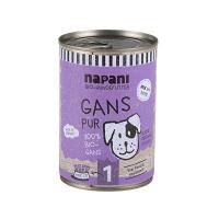 Napani Bio Hundefutter Gans pur