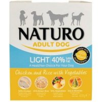NATURO Adult Dog Light Chicken and Rice with Vegetables