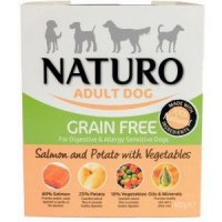 NATURO Grain Free Salmon & Potato with vegetables
