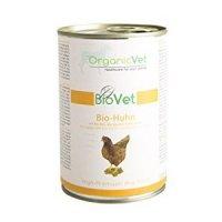 OrganicVet BIOVET Bio-Huhn mit Bio-Reis, Bio-Zucchini & Bio-Kürbis