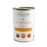 OrganicVet sensitive Geflügel mit Erbsen & Möhren