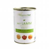 OrganicVet sensitive Lamm mit Hirse & Kürbis