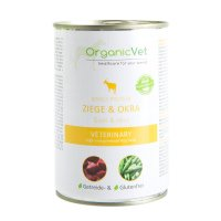 OrganicVet Single-Protein Ziege & Okra