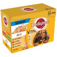 Pedigree Vital Protection Senior7+ in Gelee