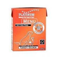 PLATINUM Menü Turkey & Salmon