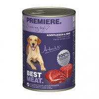 Premiere Best Meat Adult Kopffleisch & Rind
