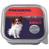 Premiere Best Meat Adult Rind mit Wachtel