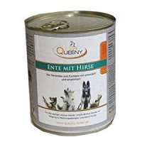 Queeny Hundefutter Ente mit Hirse