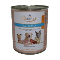 Queeny Hundefutter Lachs Mix