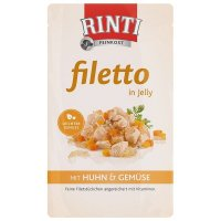 RINTI Filetto in Jelly Frischebeutel Huhn & Gemüse