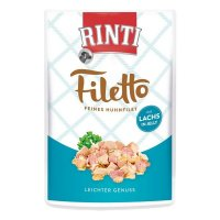 RINTI Filetto in Jelly Frischebeutel Huhn & Lachs