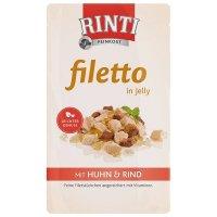 RINTI Filetto in Jelly Frischebeutel Huhn & Rind