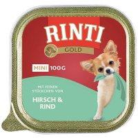 RINTI Gold Mini Hirsch & Rind