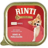RINTI Gold mini Rind & Perlhuhn