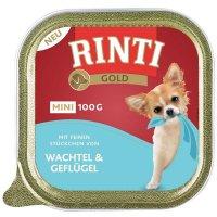 RINTI Gold Mini Wachtel & Geflügel