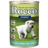 Rocco Junior Geflügel, Wild, Reis & Kalzium