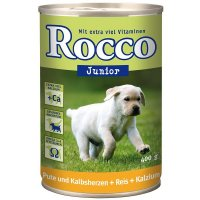 Rocco Junior Pute, Kalbsherzen, Reis & Kalzium
