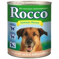 Rocco Sommer-Menue Rind mit Lachs Süßkartoffeln