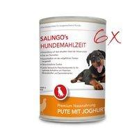 Salingo Welpenfutter Pute mit Joghurt & Spätzle