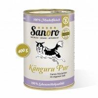 Sanoro 100 % Muskelfleisch vom Känguru, salzfrei