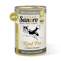 Sanoro 100% Muskelfleisch vom Rind, salzfrei