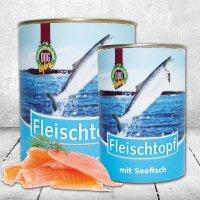 Schecker DOGREFORM Fleischtopf mit Seefisch
