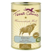 Terra Canis Büffel mit Hirse Tomaten & Papaya