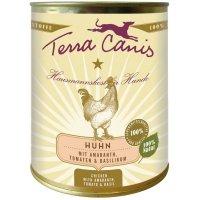 Terra Canis Huhn mit Amaranth, Tomaten und Basilikum