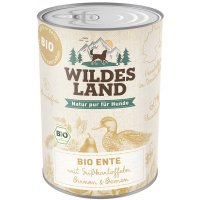 Wildes Land Bio Ente mit Süßkartoffeln