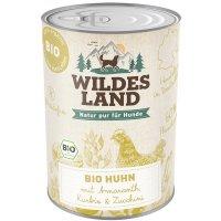 Wildes Land Bio Huhn mit Amaranth
