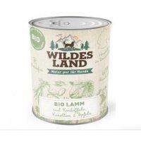 Wildes Land BIO Lamm mit Kartoffeln, Karotten & Apfel