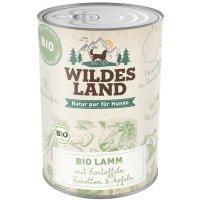 Wildes Land Bio Lamm mit Kartoffeln