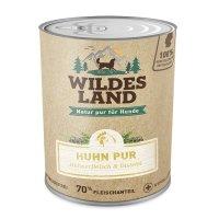 Wildes Land Huhn PUR mit Distelöl