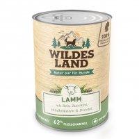 Wildes Land Lamm mit Reis, Zucchini, Wildkräutern und Distelöl