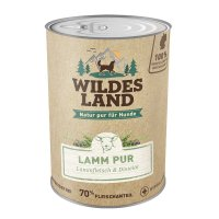 Wildes Land Lamm PUR mit Distelöl