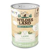 Wildes Land Puppy Lamm mit Reis, Kürbis und Wildkräutern