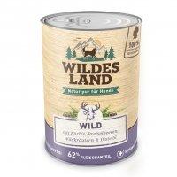 Wildes Land Wild mit Kürbis, Preiselbeeren, Wildkräutern und Distelöl