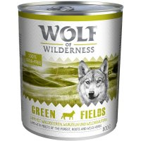 Wolf of Wilderness Green Fields Lamm
